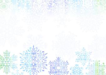 雪の結晶 クリスマス 背景