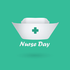 International nurses day illustration.