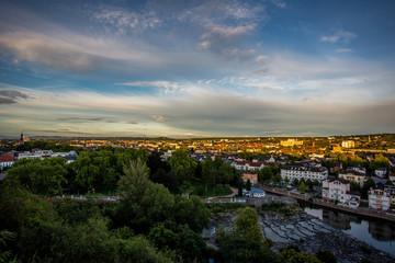 Sonnenuntergang über Bad Kreuznach