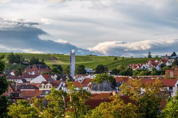 Blick über Bad Kreuznach von der Kauzenburg aus