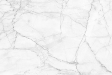 White (gray) marble texture, detailed structure of marble (high resolution), abstract  texture background of marble in natural patterned for design.