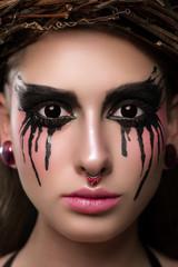 Portrait Of A Gotic Woman