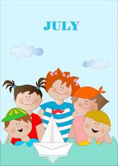 july - luglio