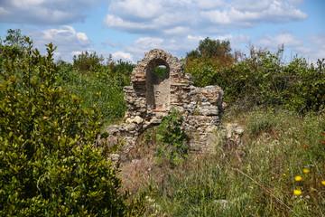 Side ruins in Turkey