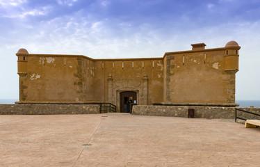 Castle at San Juan De Los Terreros , Almeria Province, Andalusia, Spain