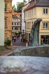 Fußgängerzone in der Neustadt von Bad Kreuznach