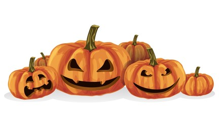 Halloween, pumpkin is a holiday for celebration