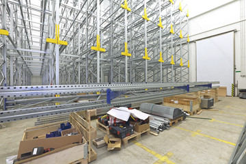 Shelving System Construction