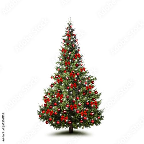 geschm ckter weihnachtsbaum stockfotos und lizenzfreie bilder auf bild 89365138. Black Bedroom Furniture Sets. Home Design Ideas