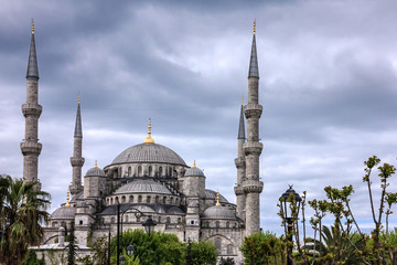 Sultanahmet - blue mosque, Istanbul, Turkey
