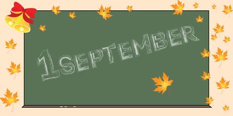 1 september, back to school