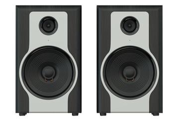 wooden loudspeakers