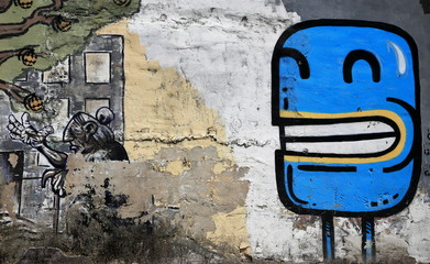 blue picture-graffiti-europe