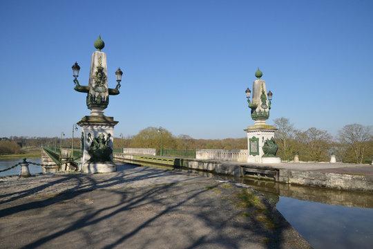 picturesque city of Briare in Loiret