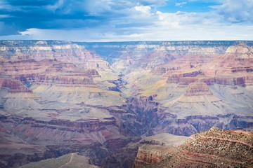 Orizzonte e dettaglio Grand Canyon