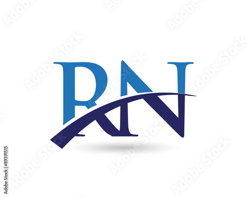 Rn logo letter swoosh stock image and royalty free vector files on rn logo letter swoosh altavistaventures Gallery