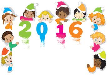 Capodanno Multicolore con Bambini
