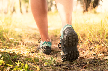 Trekking shoes, hiking or running