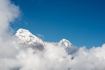 Machapuchare or Fishtail peak in Nepal