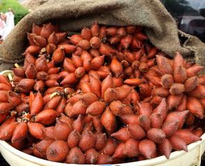 Thai fruit, Sala, the fruits of Janthaburi province of Thailand