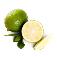 Lime on the table