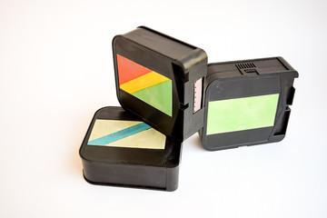 Film for cameras.