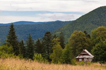 Fototapeta old wooden house