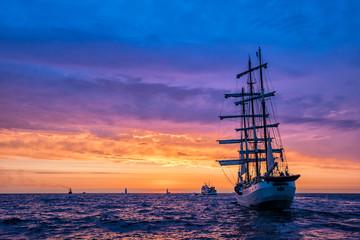 Segelschiffe auf der Hanse Sail