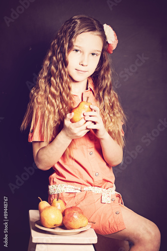 Teen Girl Model Little Princess Stock Photo And Royalty Free Images On Fotolia Com Pic 81226668