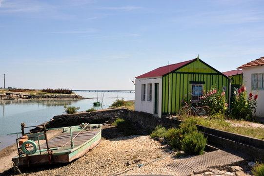 La cabane verte , Saint-Trojan-les-Bains, l'Ile d'Oléron