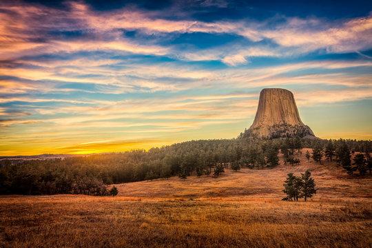 Devil's Tower Sunrise