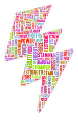 Blitz Symbol: Kraft, Energie, Power