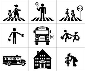 Safety of children in traffic