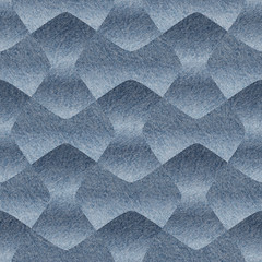 Abstract decorative wallpaper - seamless pattern - blue jeans texture