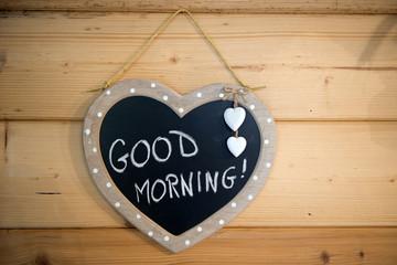 Wood Good Morning