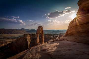 Sandstone arches and natural structures