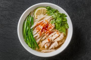 フォー ベトナムの麺料理 Noodles chicken of Pho Ga Vietnam