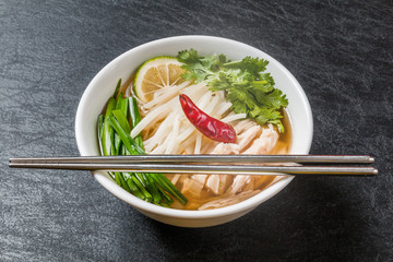 フォー ベトナムの麺料理 Noodles chicken of Pho Ga Vietnam