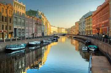 Moyka river in St.Petersburg
