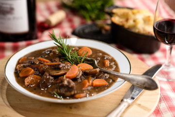 french beef bourguignon