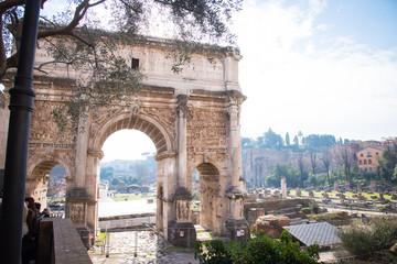 フォロ・ロマーノ ローマ Roman Forum