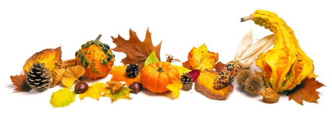 Herbst Dekoration Arrangement