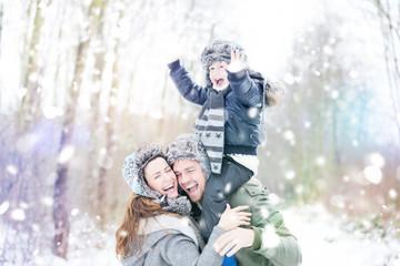 Familie Winterspaß
