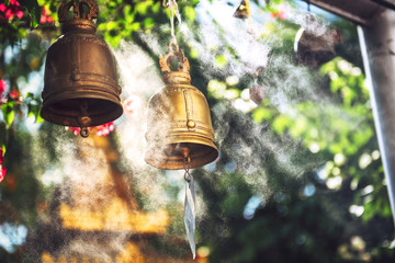 Bells in Buddhist temple