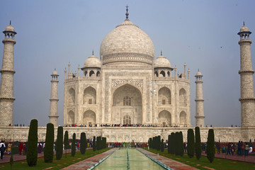 Taj mahal , A famous historical monument of India