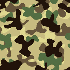 Seam less Camouflage pattern