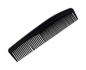 Black barber shop comb
