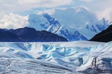 Poster Glaciers Kennicott glacier