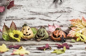 Herbstliche Deko mit Holz