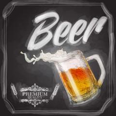 beer blackboard